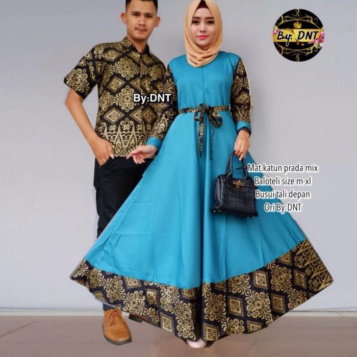Jual Couple Keluarga Baju Batik Keluarga Batik Modern Batik Couple Gamis Cream L Kota Surakarta Wow Batik Tokopedia