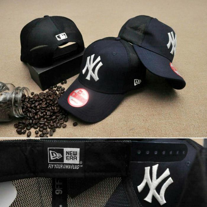 Jual topi original import   NY Yankees Trucker cap original import ... ca7165b62f