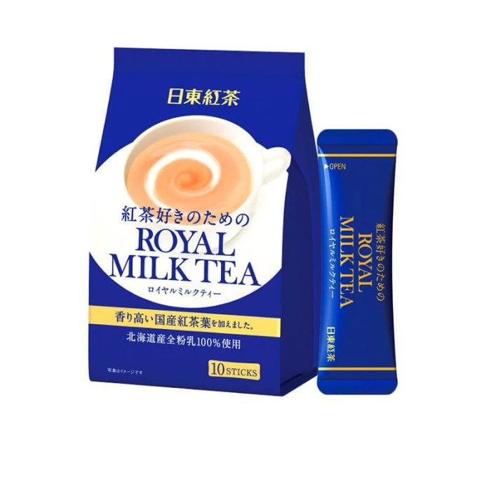 harga Nitto royal milk tea (14grx10) Tokopedia.com