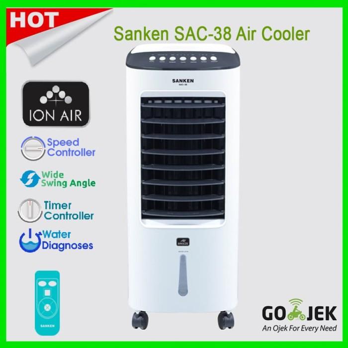 Foto Produk Air Cooler Sanken SAC-38 Canggih Fitur humidifier & ION AIR dari Jawa Electrik