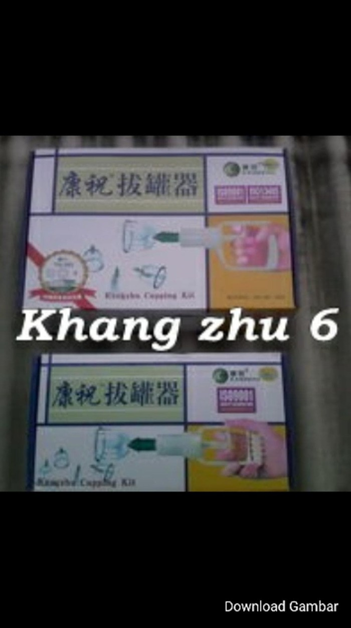 Promo Harga Kop Angin Bekam Termurah 2018 Alat Kesehatan Isi 6 Tabung Jual Ready Stock Kang Zhu Zack