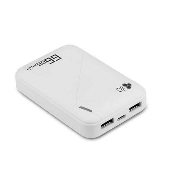 HiPPO ILO F2 6600mAh Powerbank Best Seller - Putih
