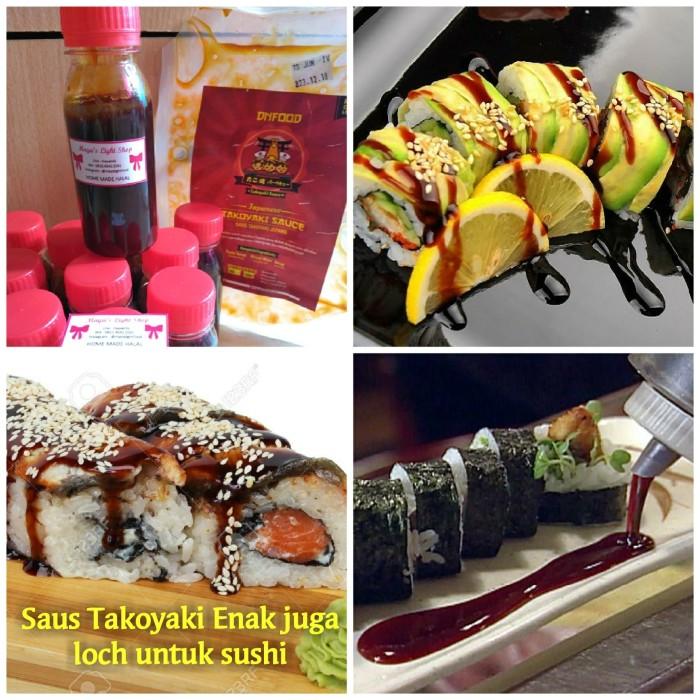 Saus takoyaki sauce halal teriyaki okonomiyaki sosis bakar sushi