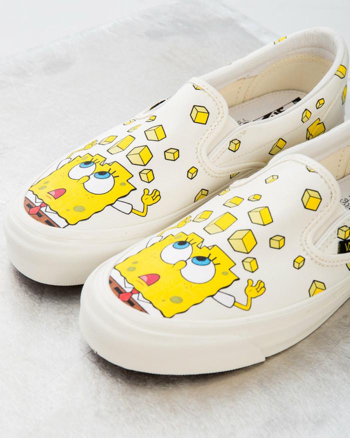 spongebob vans new
