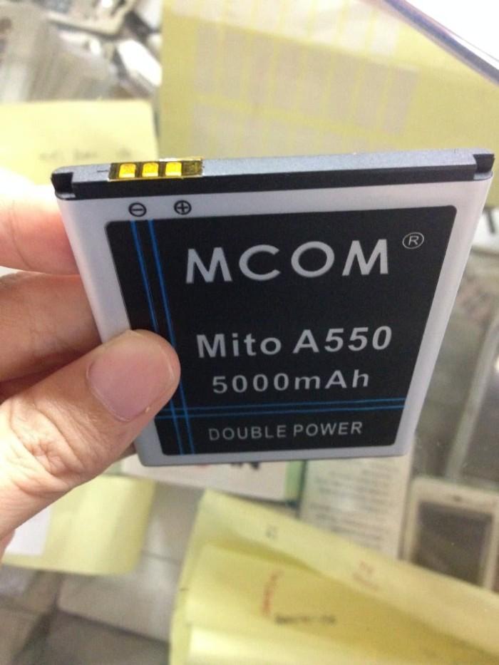 Baterai BA 00119 Mito A550 5000mah Double Power Mcom