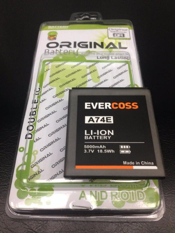 Baterai Evercoss A74E Winner T Plus 5000Mah Double Power Evercoss