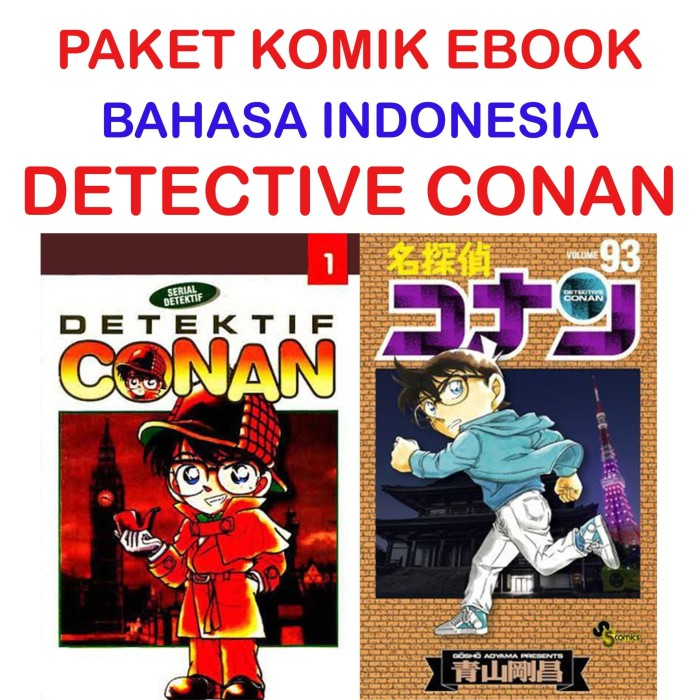Ebook Detective Conan Bahasa Indonesia