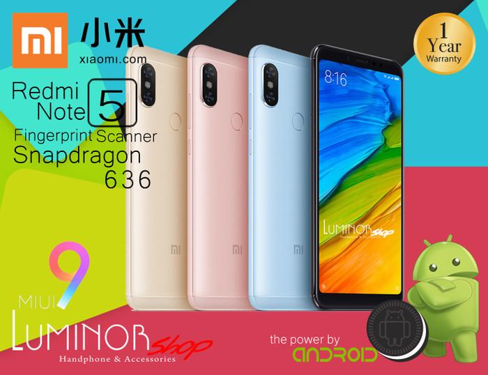 XIAOMI REDMI NOTE 5 RAM 3GB ROM 32GB - Emas - Jual Handphone
