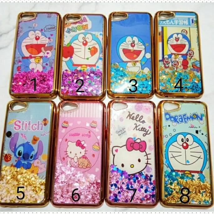 New Case Glitter Air Oppo A83 / Softcase Oppo A83 Water Gliter Air ""