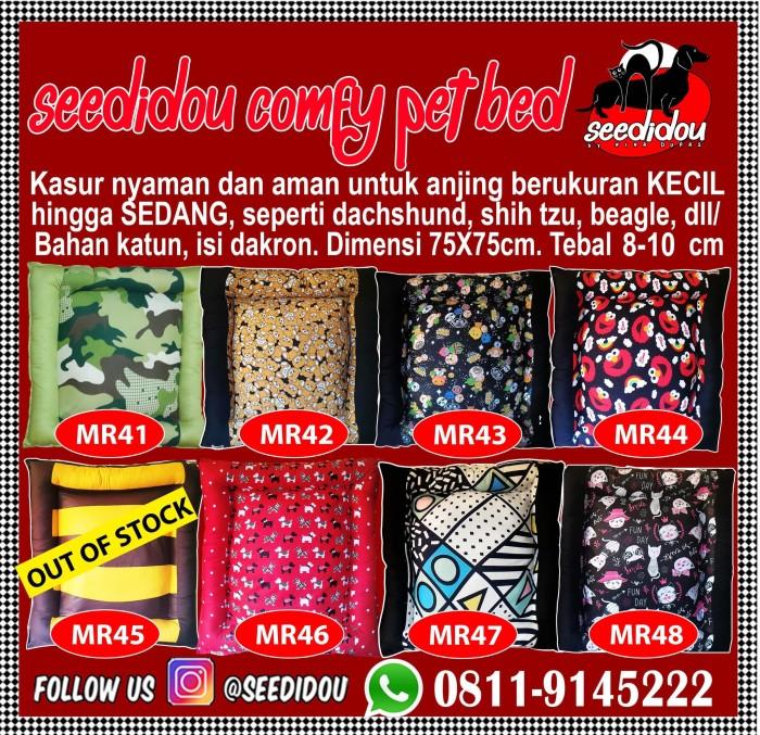 harga Kasur anjing medium 75x75cm / dog bed for medium breed / pet bed Tokopedia.com
