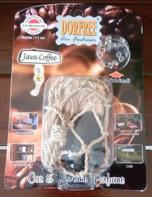 Jual Parfum Dorfree Hanger Car Home Aroma Java Coffee Pdfhjc