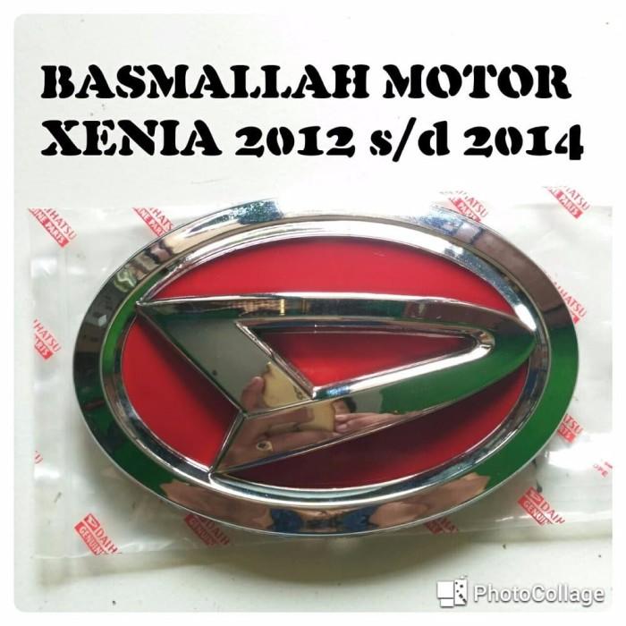 daihatsu car eksterior Emblem Logo depan XENIA all new 2012 2014 komp