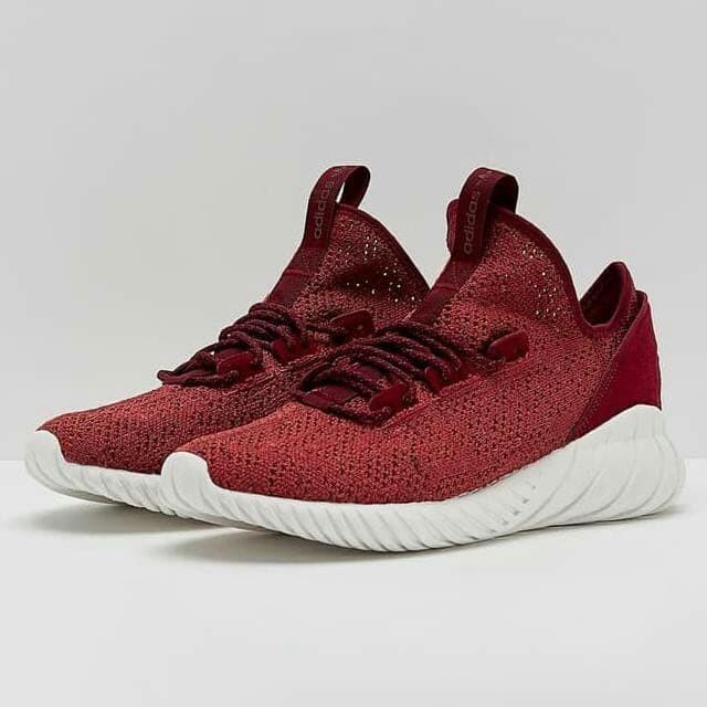 regard détaillé 6bffe 38eb5 Jual Sepatu Adidas Tubular Doom Maroon. - Jakarta Utara - Adidas Import |  Tokopedia