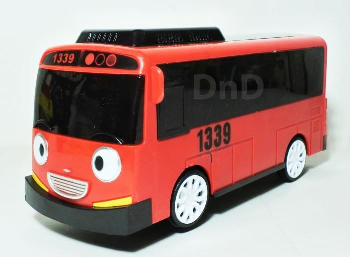 Foto Produk Mainan Anak - Tayo Little Bus Car Plus Mobil Bis Taiyo Lampu Lagu dari Toko DnD
