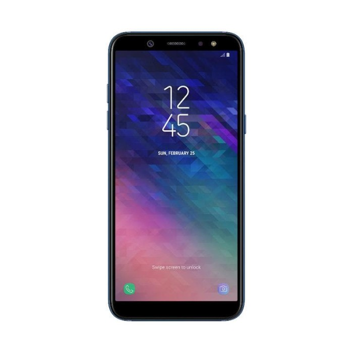 samsung galaxy a6 - black