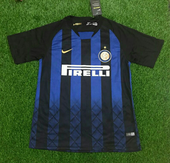 finest selection fe6da 4c2d7 Jual JERSEY BOLA INTER MILAN HOME 2018/2019 GRADE ORI - zia_collection93 |  Tokopedia