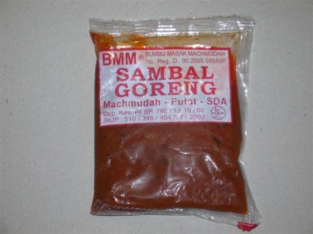Bumbu tradisional sambal gorenng - 12 bungkus