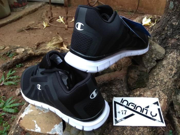 f846fc6d9fe Jual Champion Original Shoes Gusto Black - Sepatu Champion Pria ...