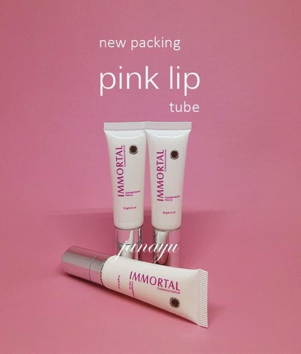 IMMORTAL Essential Intense Pink Lip Pemerah Bibir Permanen Alami BPOM