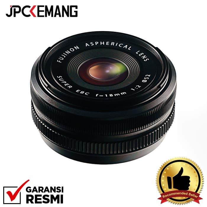 Foto Produk Fujifilm XF 18mm f/2 R GARANSI RESMI dari JPCKemang