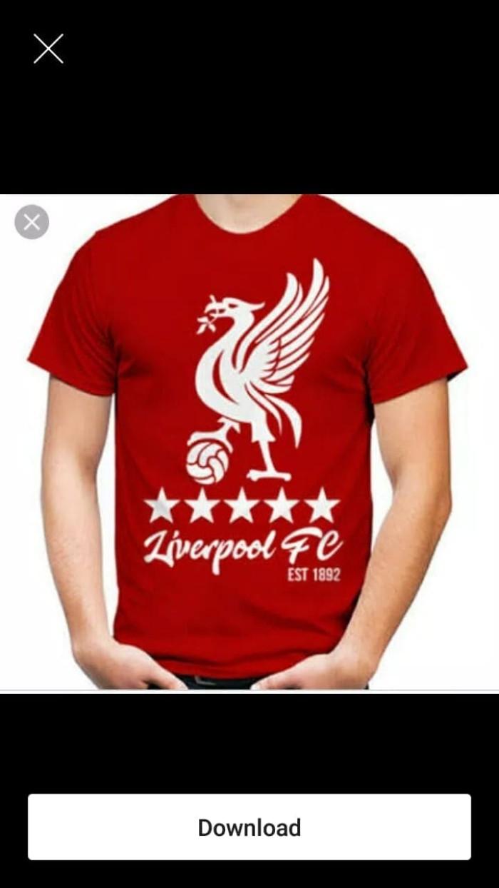 Jual Kaos T Shirt Liverpool Fc Jakarta Timur Zhola Shop