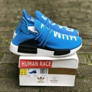 finest selection 3843e f94b1 Jual Sepatu Adidas NMD x Pharrell Williams Human Race Blue W Paling Laris -  Kab. Semarang - KLIK FASHION SEMARANG | Tokopedia