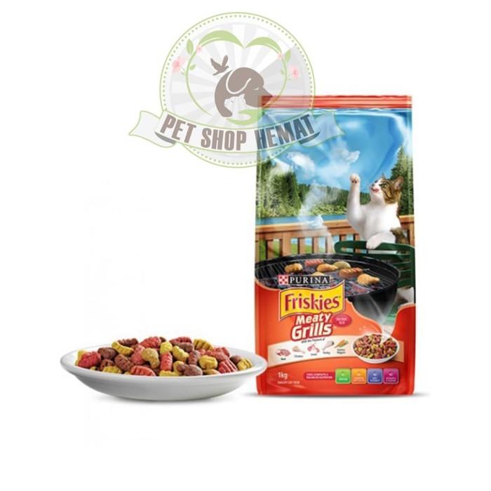Makanan Kucing Friskies Meaty Grill 450 gram / Meaty Grill 450gr