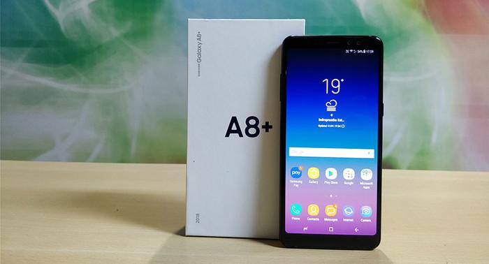 Foto Produk Samsung galaxy A8+ garansi resmi sein dari nusajayaelectronic