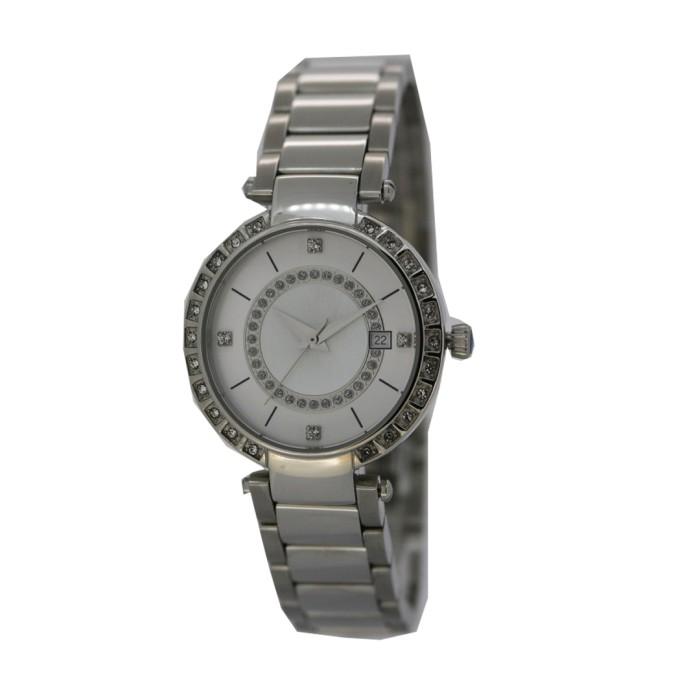 mango jam tangan wanita ma6644l-80 silver