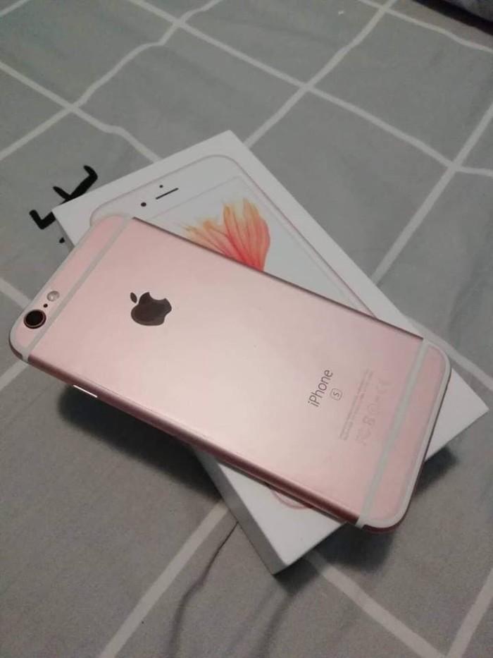 Jual Iphone 6s 64gb Rosegold Resmi Ibox Garansi Aktif Sampai