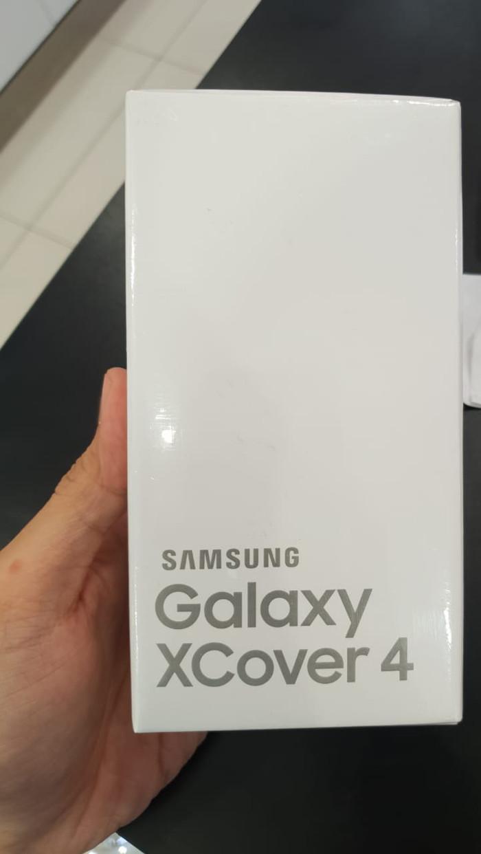 Samsung Galaxy Xcover 4 Android outdoor Garansi resmi sein 1 Tahun - Hitam