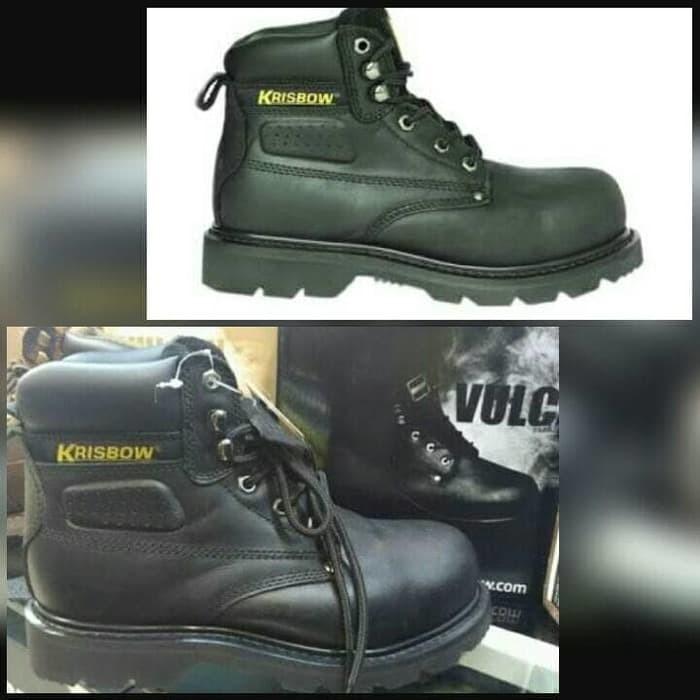 Jual Sepatu Safety Krisbow Vulcan Hitam Jakarta Utara Ikhwan
