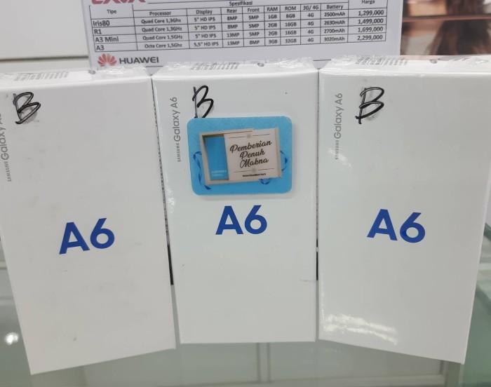 harga Samsung a6 resmi baru termurah surabaya toko Tokopedia.com