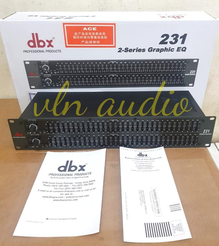 harga Equalizer dbx 231 Tokopedia.com