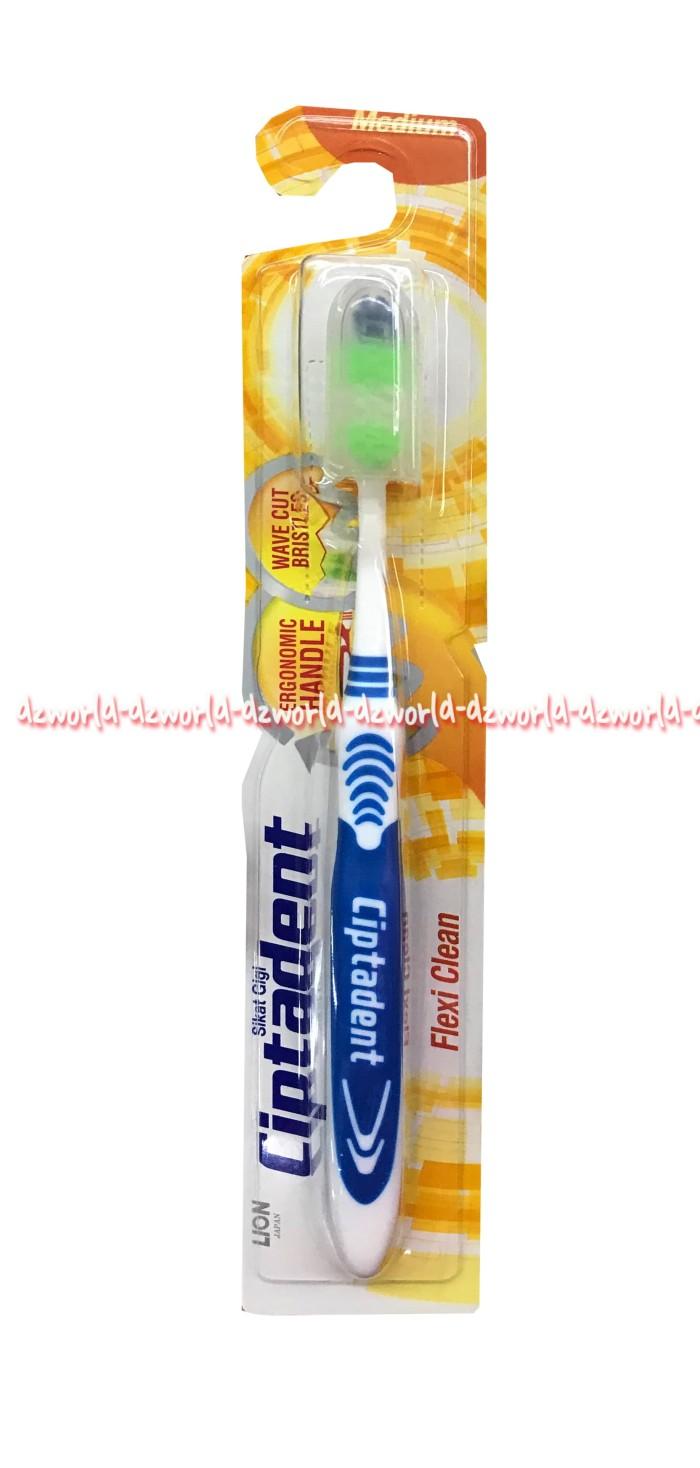 Jual Ciptadent Flexi Clean Sikat Gigi Medium Ciptaden Tooth Brush Jakarta Barat DZ World