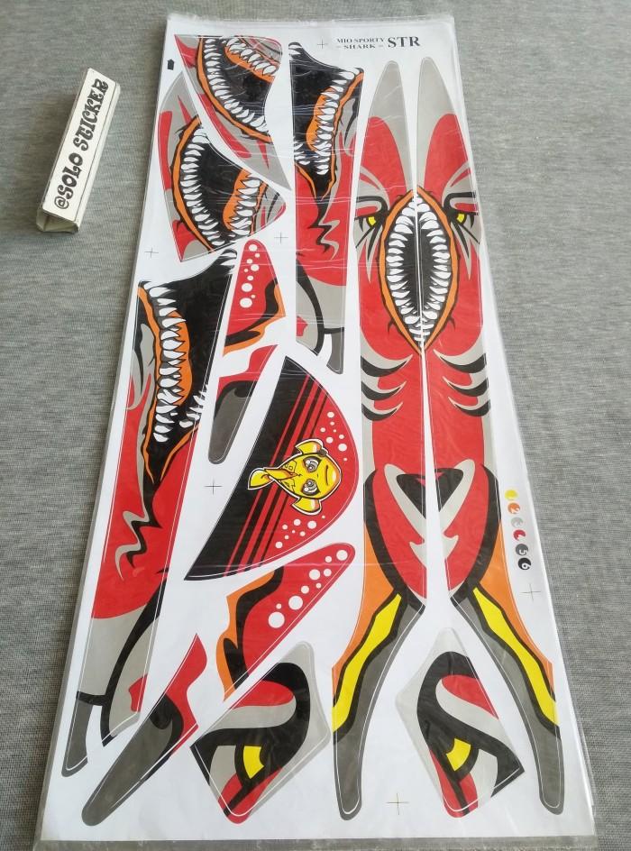 harga Striping sticker variasi mio sporty-mio smile via shark -6 Tokopedia.com