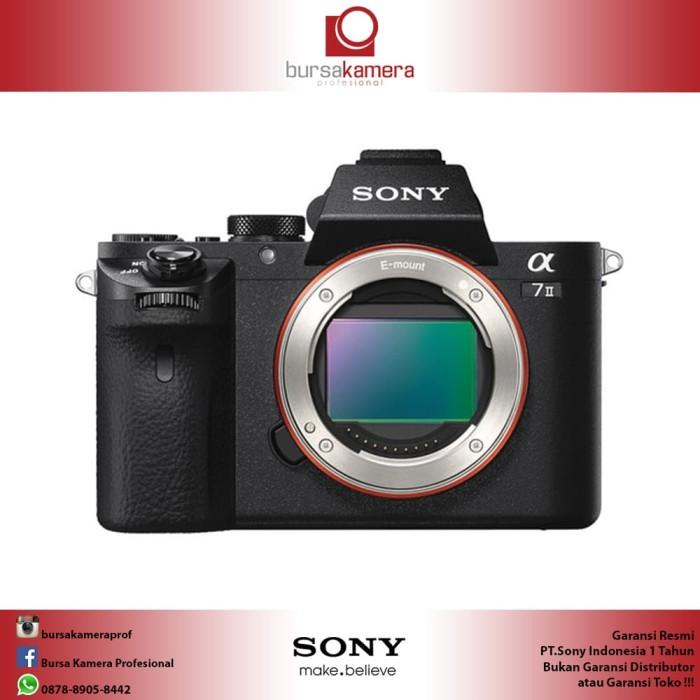 harga Sony alpha a7 ii mirrorless digital camera (body only) Tokopedia.com