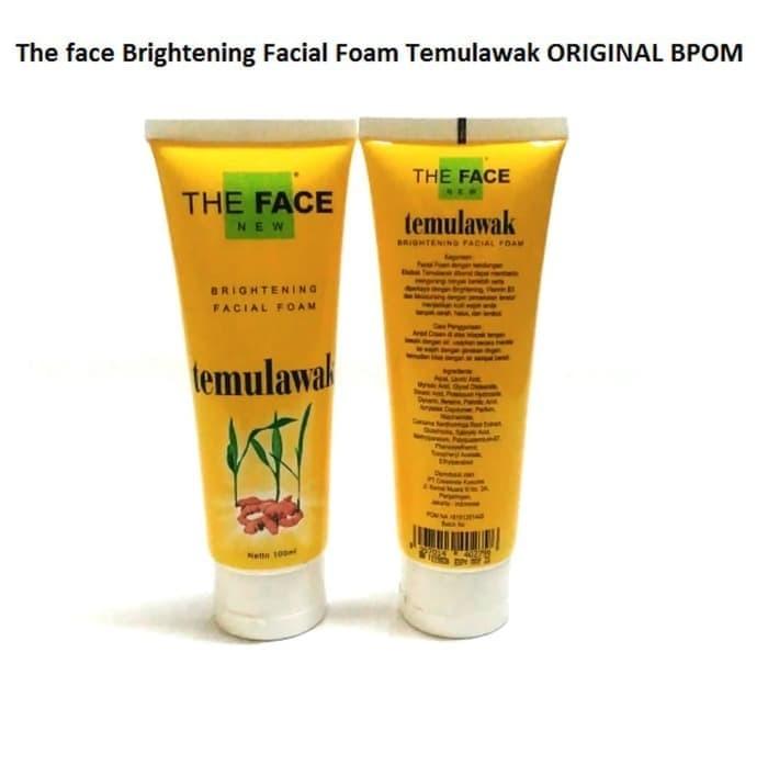 The Face Brightening Facial Foam Temulawak Original