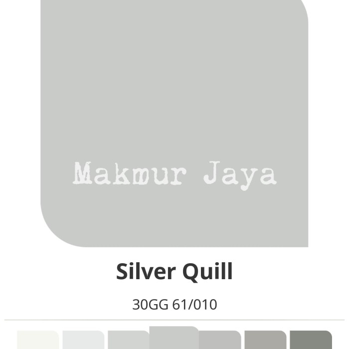 harga Dulux easyclean silver quill cat tembok interior anti noda easy clean Tokopedia.com