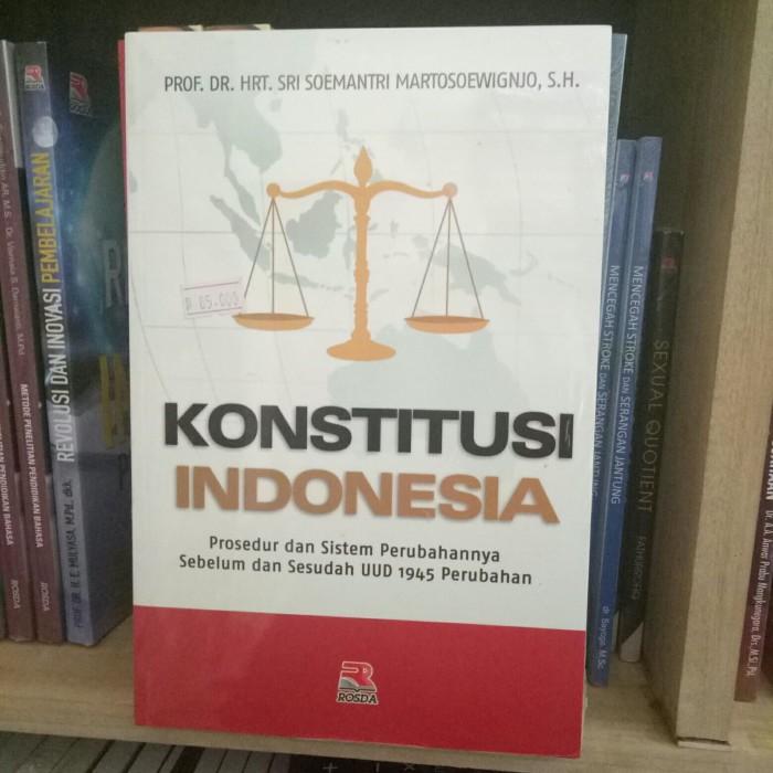 harga Konstitusi indonesia - sri soemantri Tokopedia.com