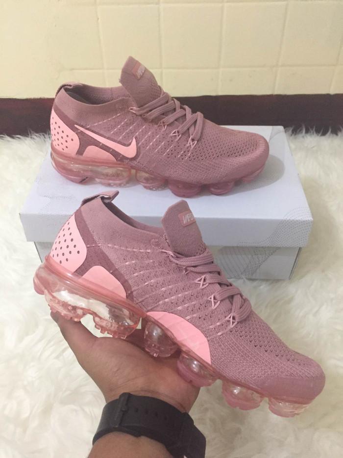 4dcf4b53cfe00 Jual Nike Air Vapormax flyknit 2.0 Rush Pink - Merah Muda