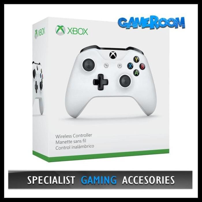 Jual Stik Stick Xbox One S Controller Wireless Bluetooth Joystick Putih Jakarta Pusat Chelsea Store Id Tokopedia