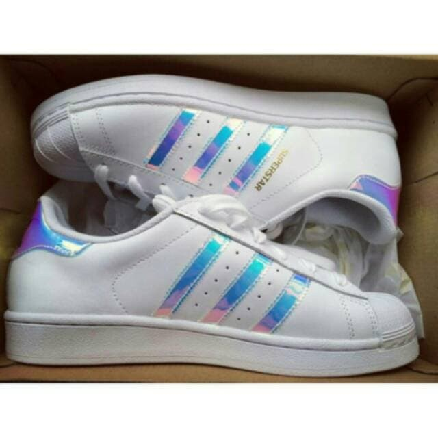 adidas superstar holographic 38