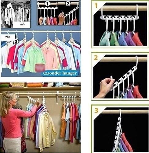 Wonder Hanger Magic Gantungan Baju Lemari Pakaian Daftar Harga Source · New Magic Hanger Wonder Hanger Gantungan Baju Pakaian