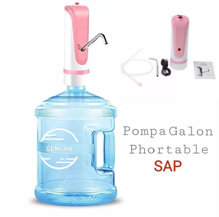 Jual Pompa Galon Pintar Sap Pompa Air Galon Phortable Kota Yogyakarta Gencha Fashion Tokopedia