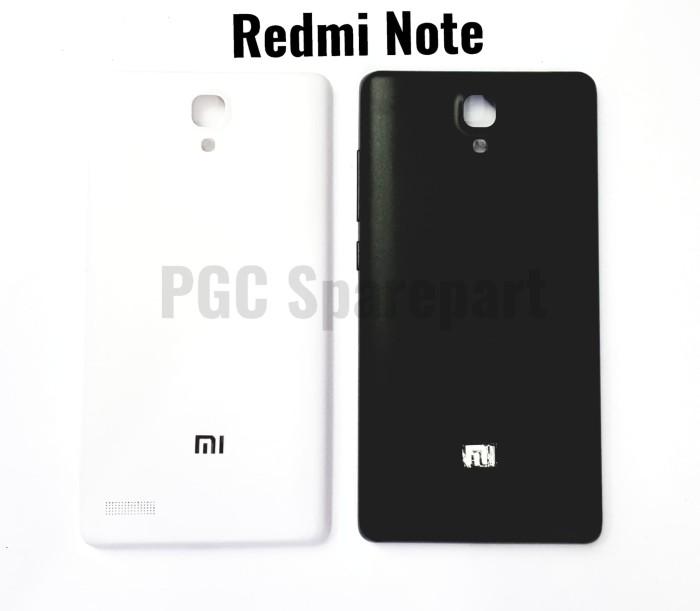 Backdoor Casing Belakang Xiaomi Redmi Note 1 - Back Cover Case Door - Putih