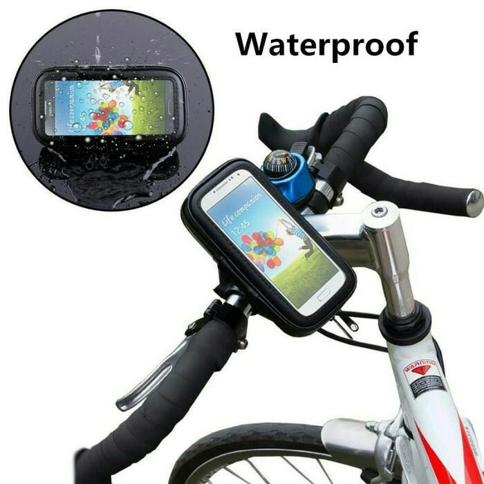 harga Holder braket smartphone gps anti air waterproof di sepeda atau motor Tokopedia.com