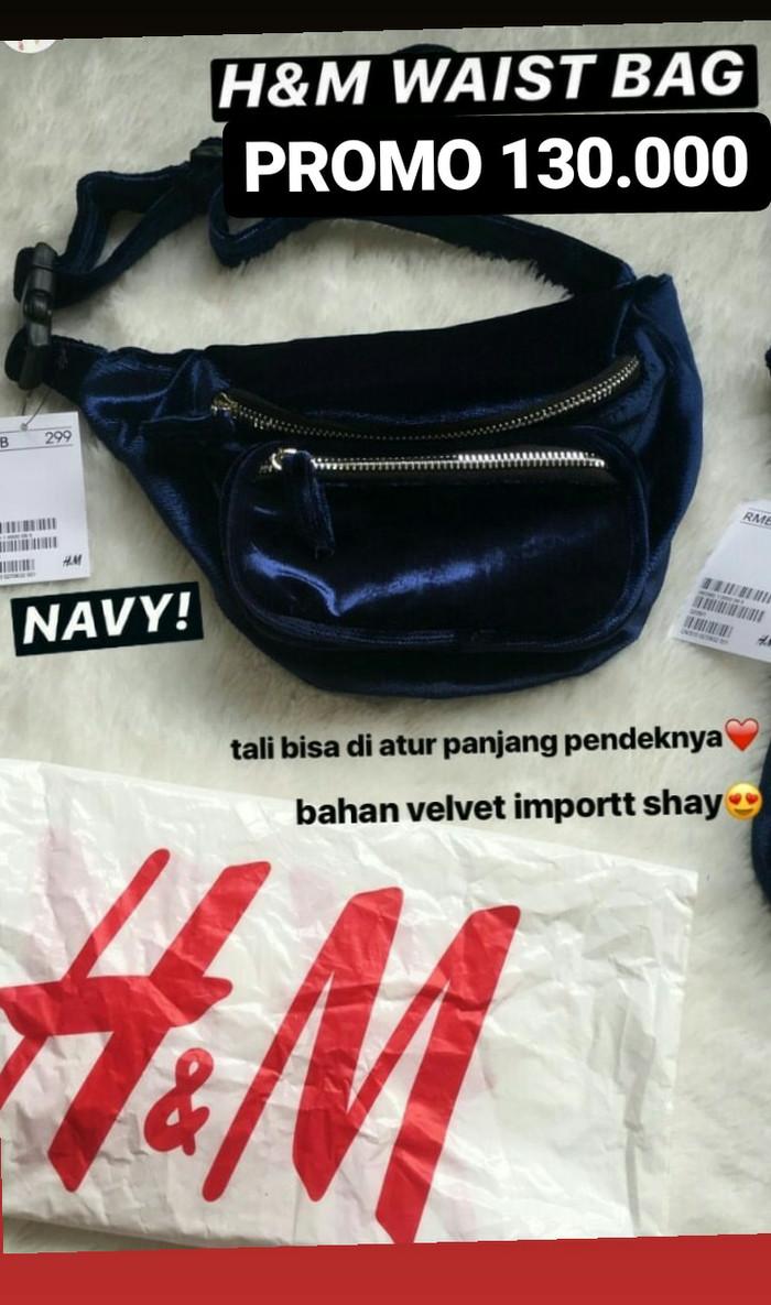 Jual Tas Wanita Hm Waist Bag Pinggang Promo 125ribu Etnik By Suhendar Blanja
