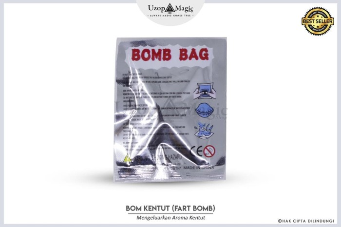 Jual Alat Sulap Bom Kentut | Fart Bomb Prank | Uzop Magic Shop - Kota Bogor  - Uzop Magic Shop | Tokopedia