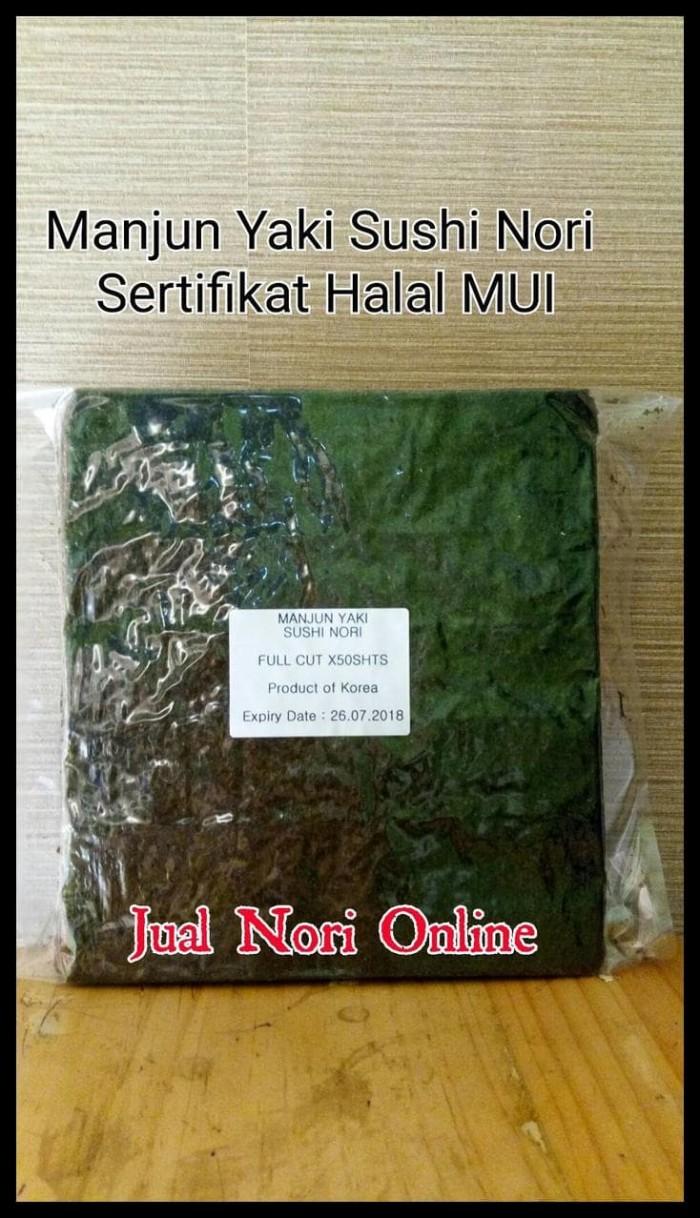 Jual Manjun Yaki Sushi Nori 50S Lembaran Rumput Laut Kering Bkn Takaokaya Jakarta Timur Cv Alfarezi Colection